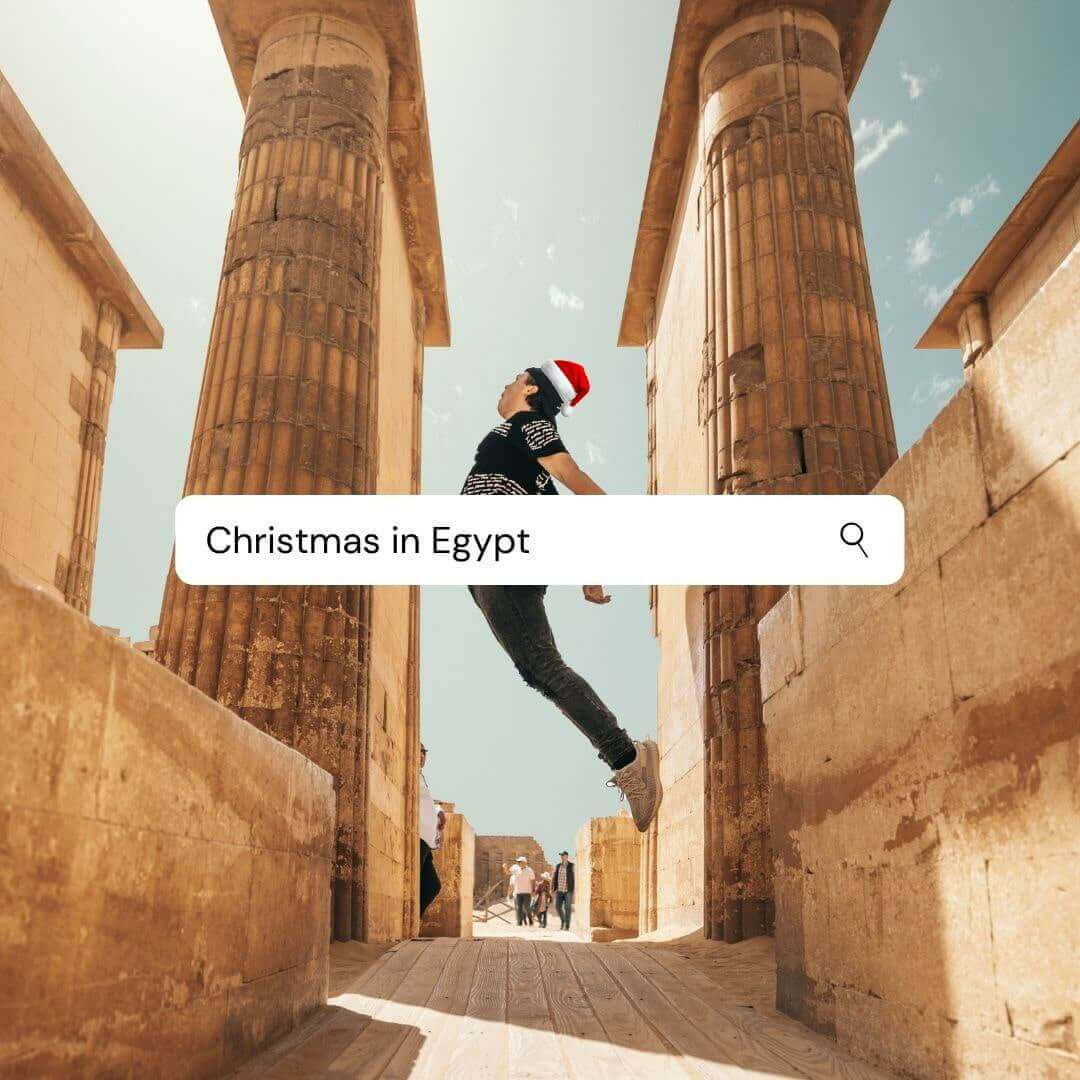 How to celebrate Christmas and New Year in Egypt?